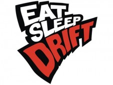 Eat Sleep Drift Çıkartma